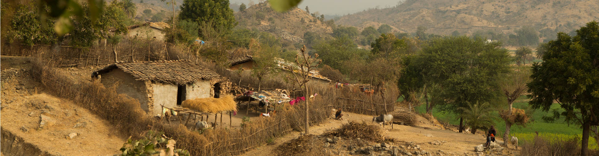 Landschaft in Indien
