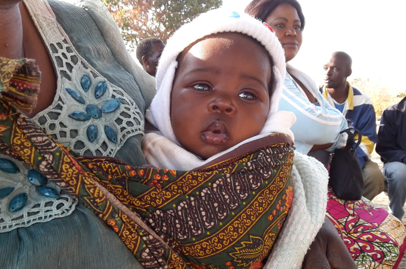 Baby in Sambia